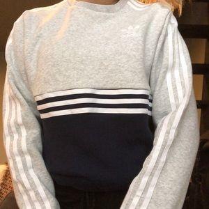 NWT adidas crew neck hoodie